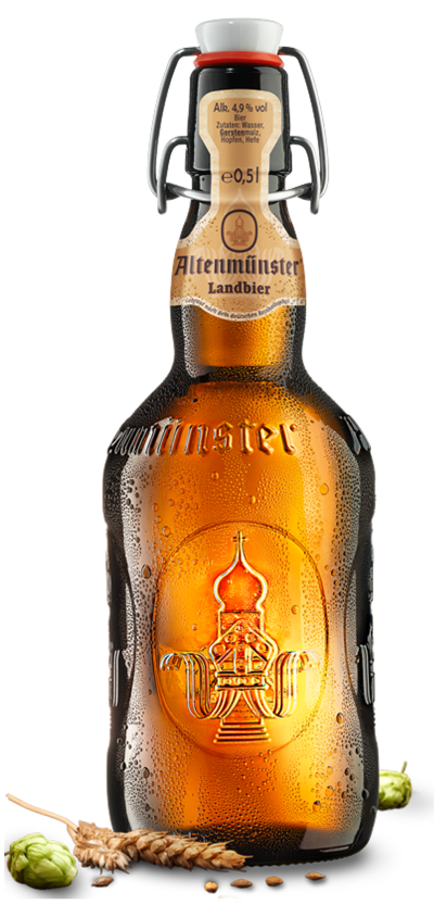 Flasche Altenmünster Landbier